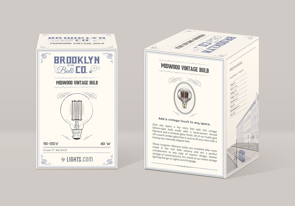 Brooklyn Bulb Co. Packaging