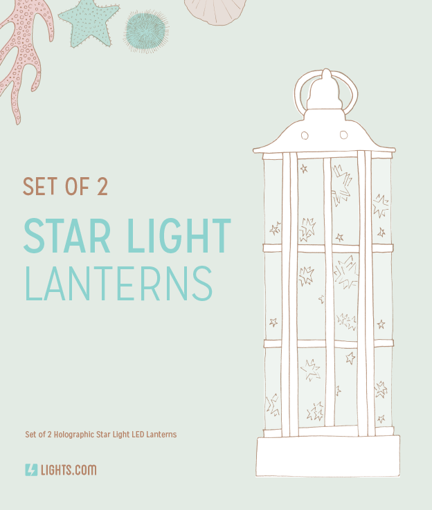 Lights.com Star Light Lanterns