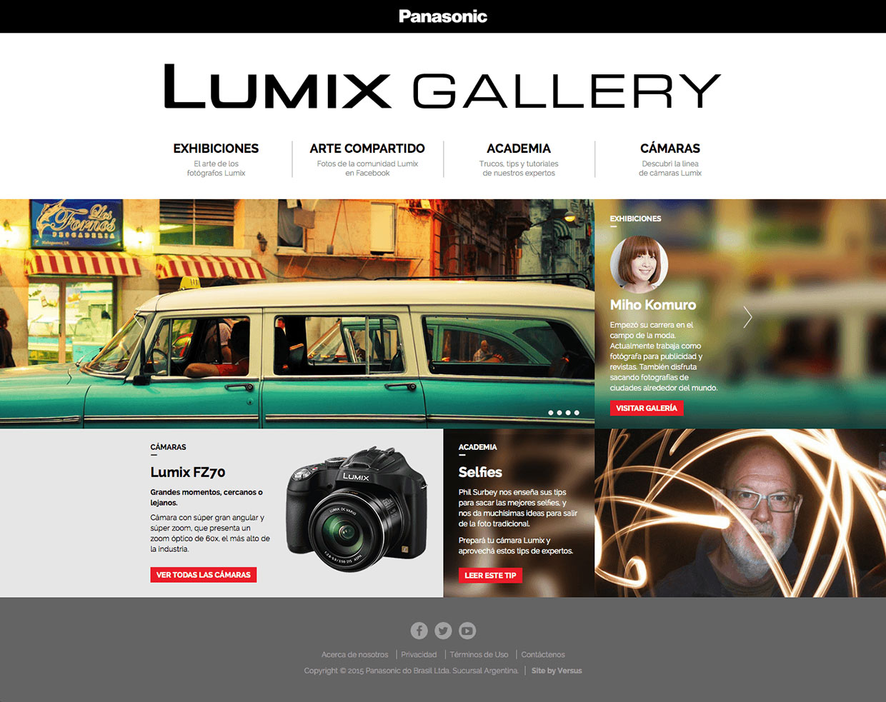 Lumix Gallery Home