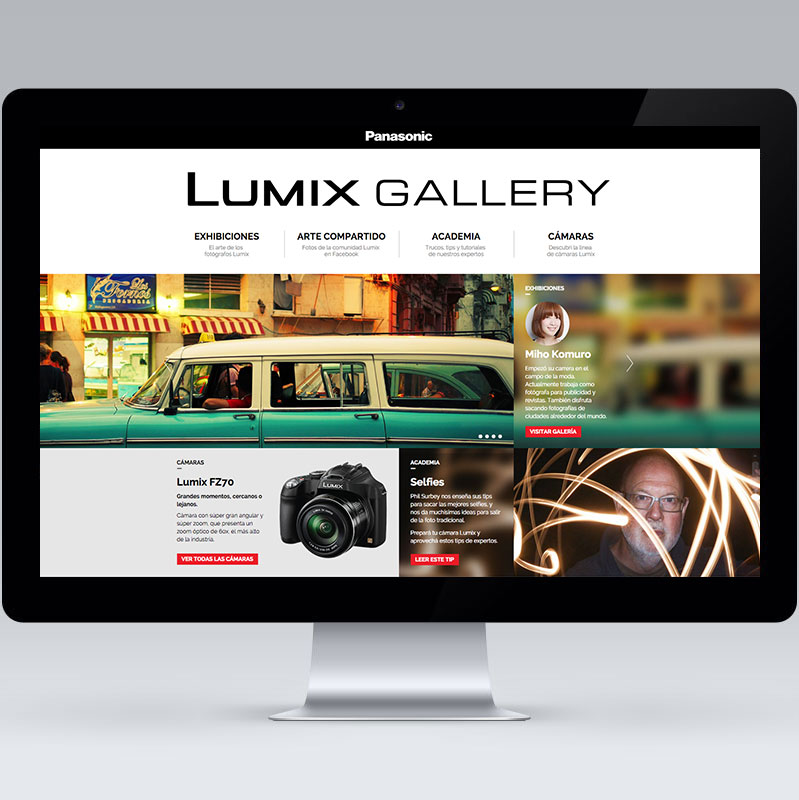 Lumix Gallery