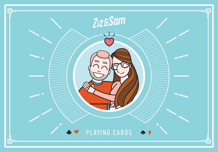 Ziz & Sam Playing Cards